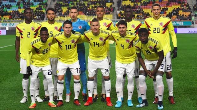 تشكيل كولومبيا ضد الجزائر عبر سوفت سلاش
