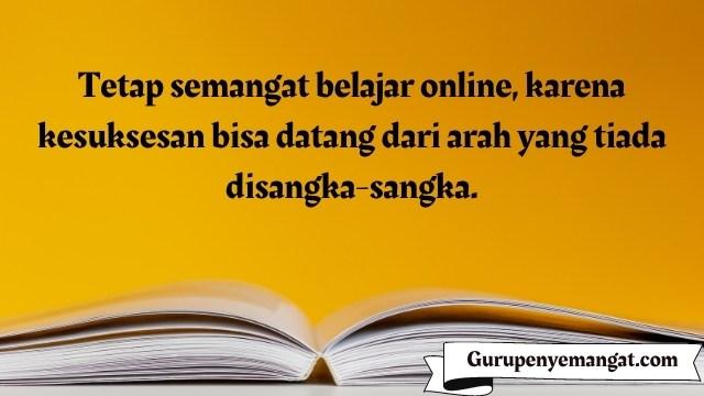 Kata-kata Penyemangat Belajar Online