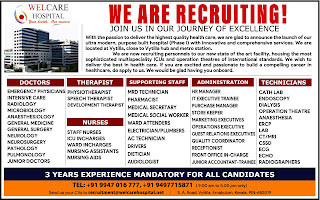 welcare recruitment