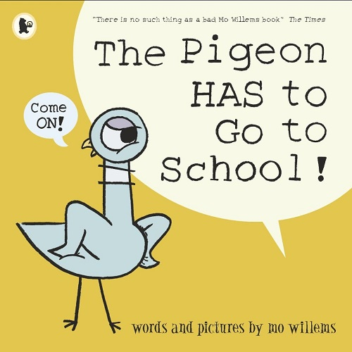 pigeon has to go to school mo willems