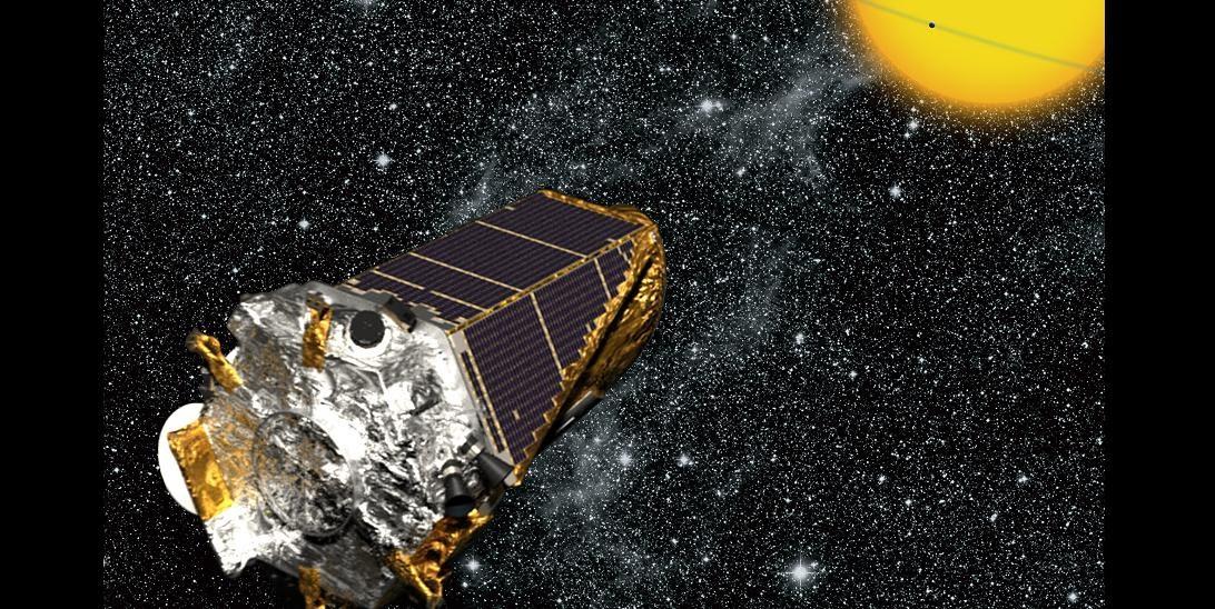kepler spacecraft location - 1092×548