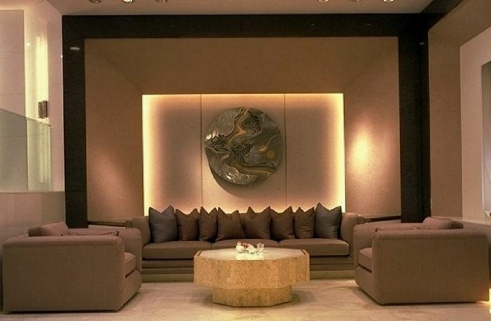 feng shui living room with modern design