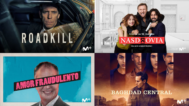 Roadkill, Nasdrovia, Amor fraudulento, Baghdad Central