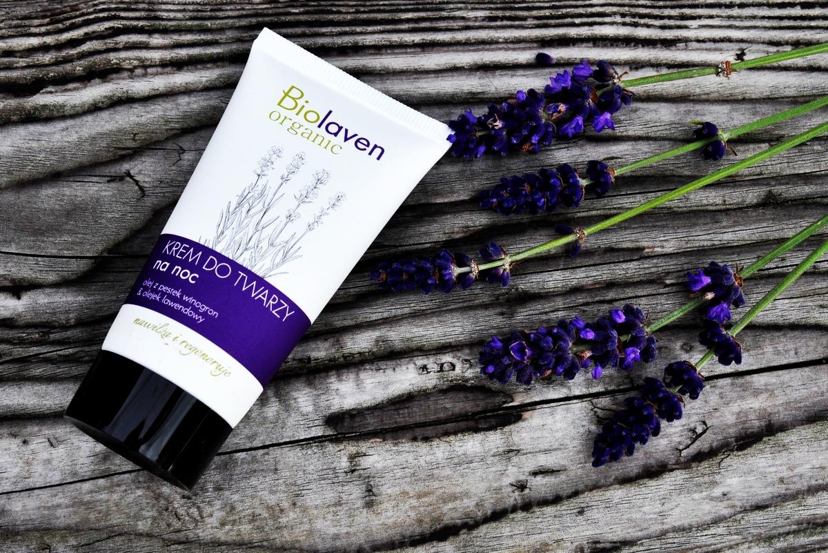 Wieczorna pielęgnacja skóry z kosmetykami Biolaven organic