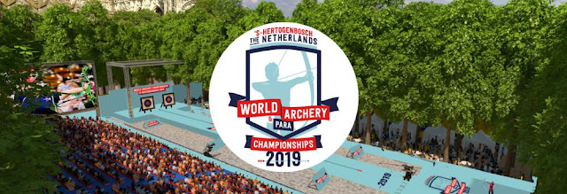 TIRO CON ARCO - Mundial 2019 ('s-Hertogenbosch, Holanda)