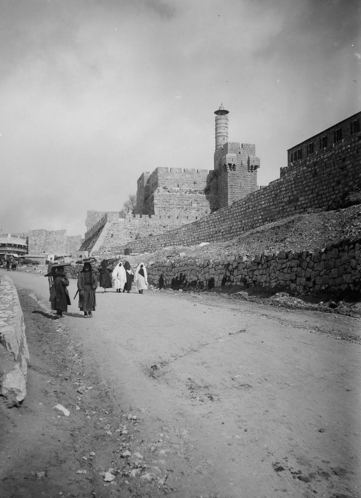 A street of Jerusalem. 1900.
