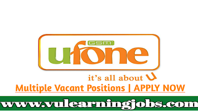 Ufone Mobile Service Provider Jobs And Career Opportunities | Pakistan