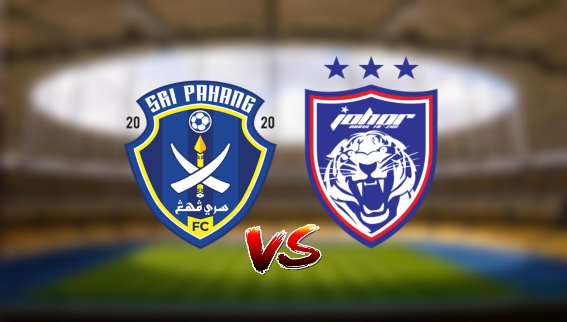 Live Streaming Sri Pahang FC vs JDT FC Liga Super 16.4.2021