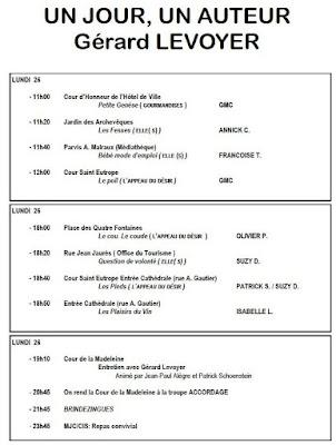 Le programme du 26 juin 2017
