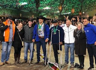 Atletas de paracanoagem do Polo Ilha Comprida conquistaram  quatro ouro e quatro pratas em competições internacionais