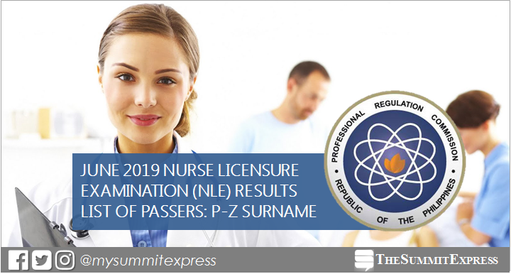 P-Z Passers: June 2019 NLE Results
