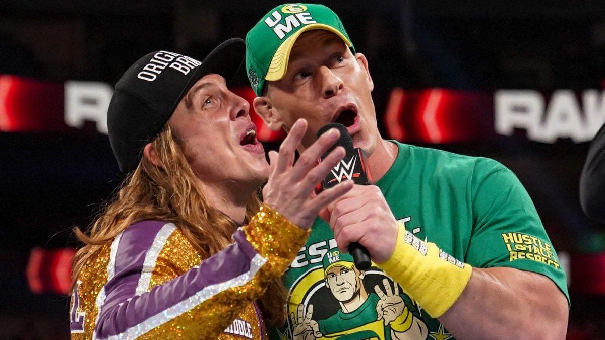 John Cena fez dupla com Riddle em Dark Match após o WWE RAW