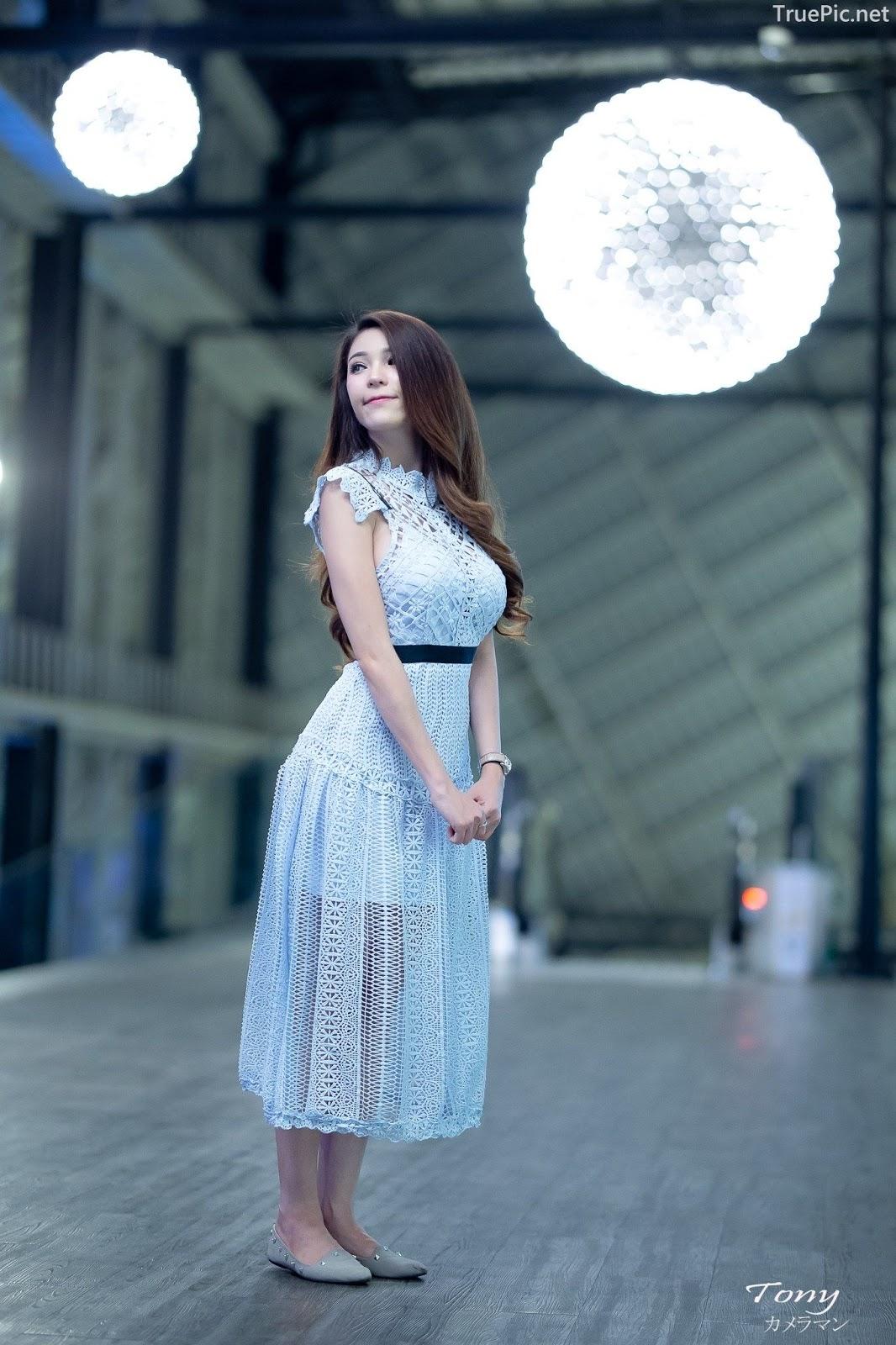 Thailand hot model – Janet Kanokwan Saesim – Sexy vs Cute and Bra vs Long Dress - Picture 6