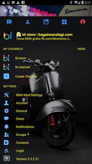 download bbm mod vespa apk terbaru latest version