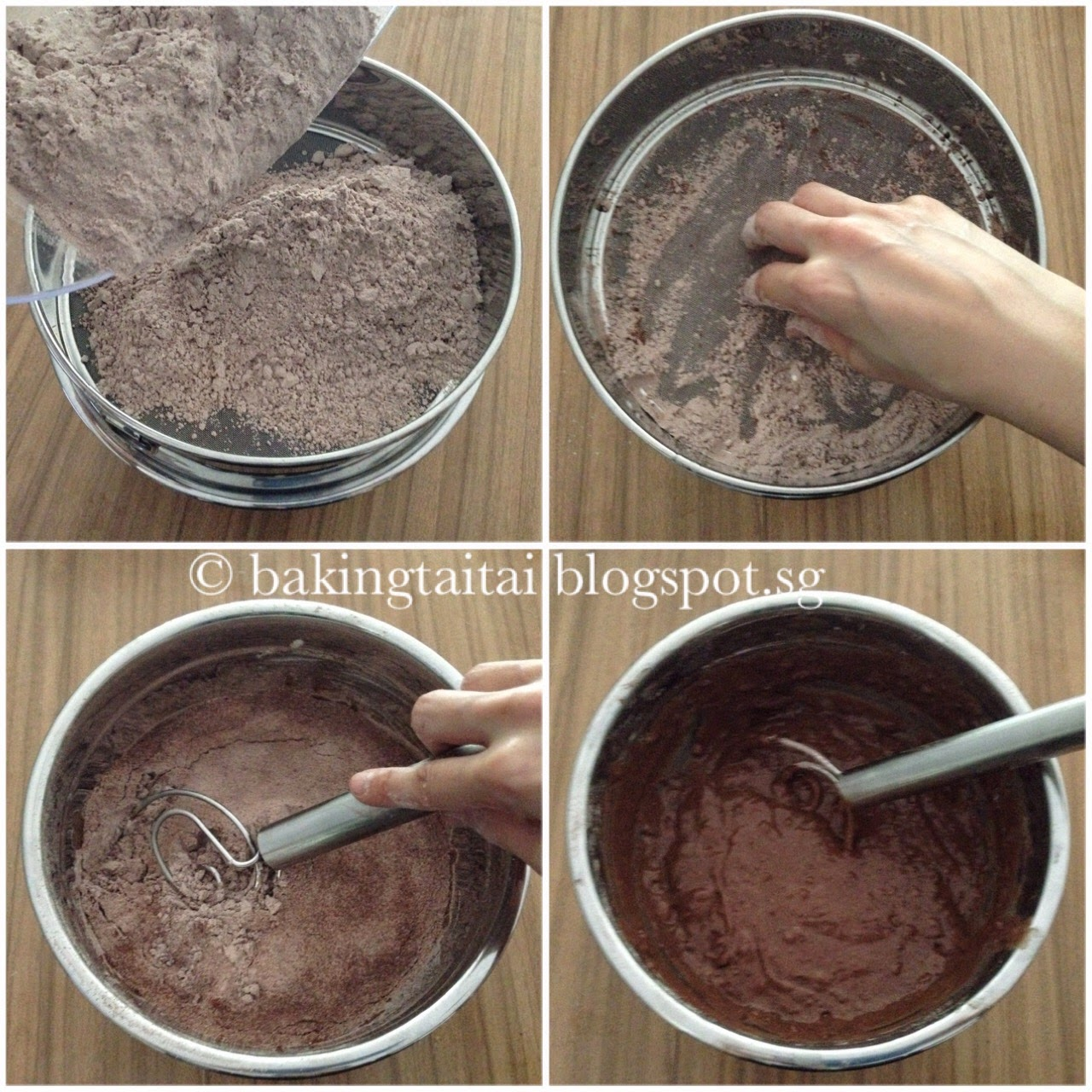 Baking Taitai 烘焙太太 Quick Amp Easy Double Chocolate Yogurt
