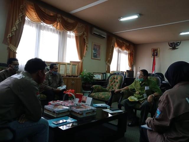 DPC LSM Garda Nasional Kabupaten Semarang Beraudiensi Dengan Bupati Mundjirin
