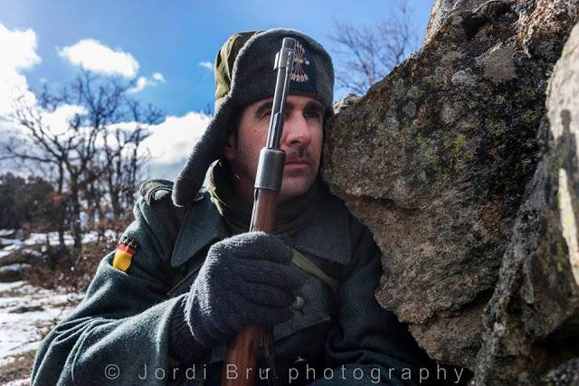 Recreación histórica de la Batalla de Krasny Bor 2018