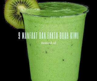 jus dari buah kiwi