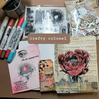CraftyColonel Donna Nuce Images Tim Holtz