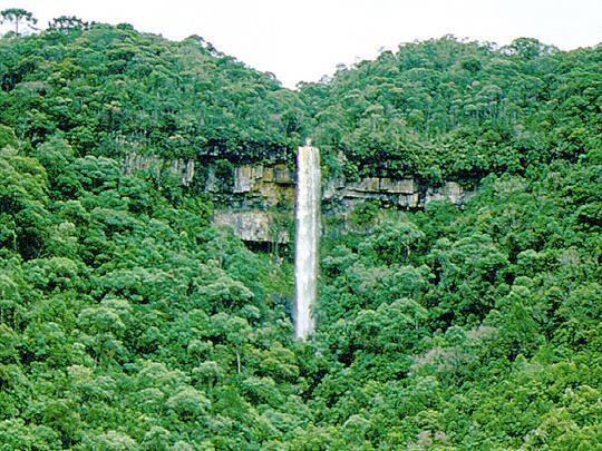 Cachoeiras potencial turistico e de educação ambiental 10