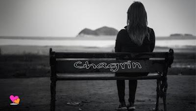 Tristesse et chagrin d'amour