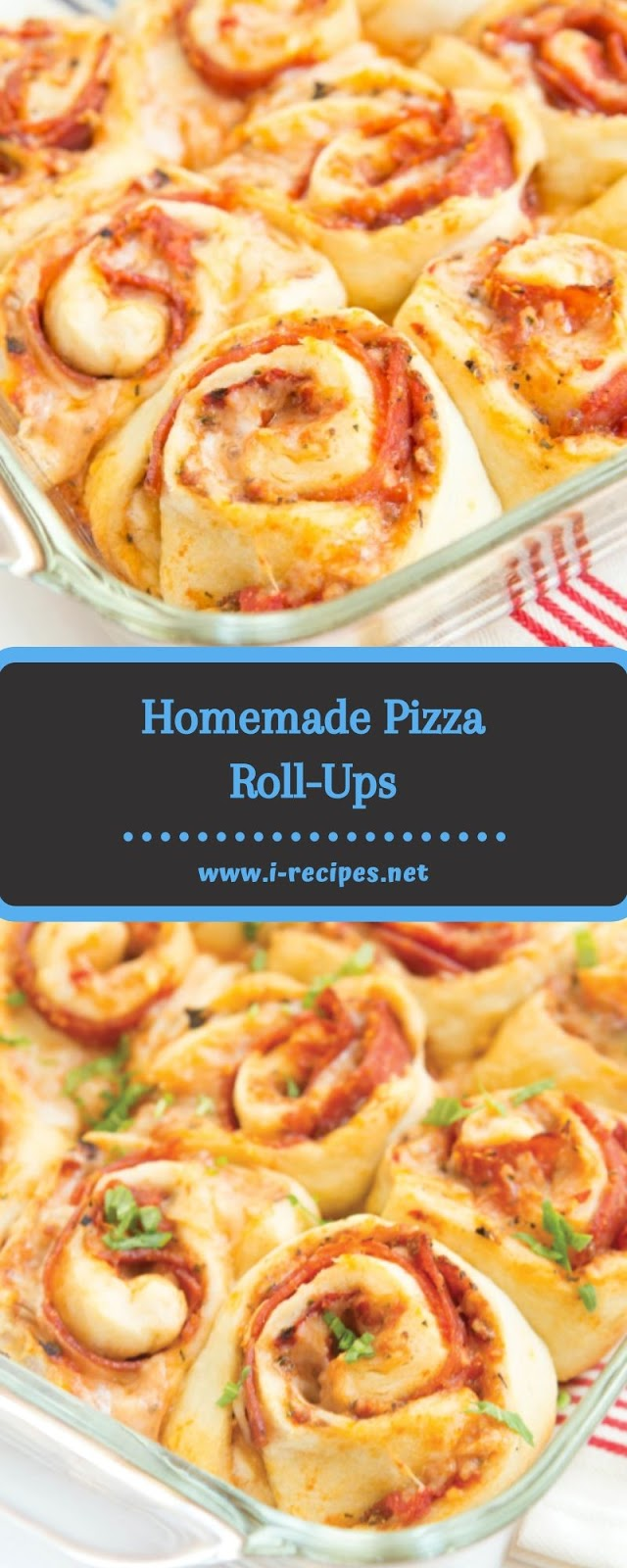 Homemade Pizza Roll-Ups