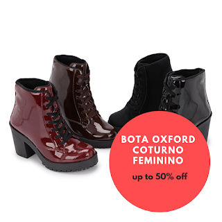 Como Usar as Botas Oxford coturno feminino