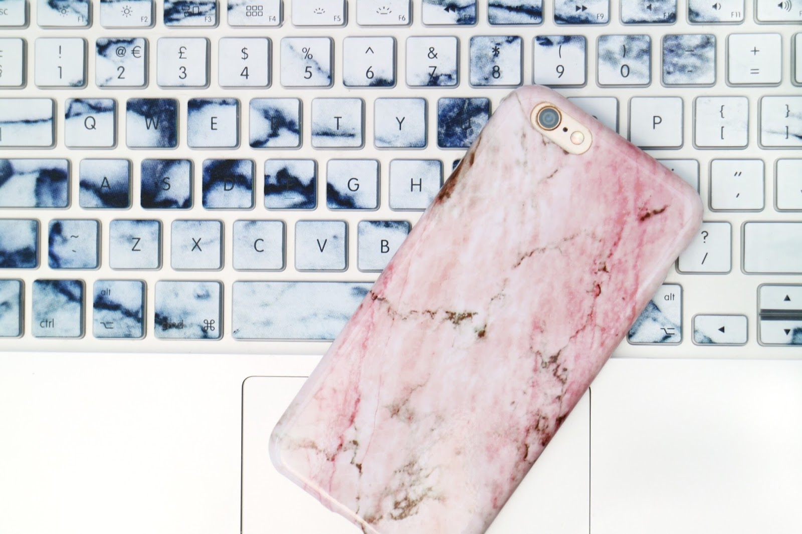 pink marble iPhone 6 case