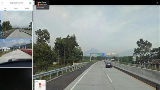 Via Tol Semarang- Solo.