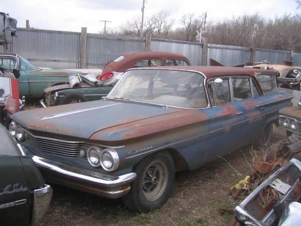 Restoration Project Cars 1960 Pontiac Catalina Station Wagon Project