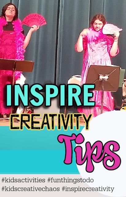 different ways to inspire creativity in kids