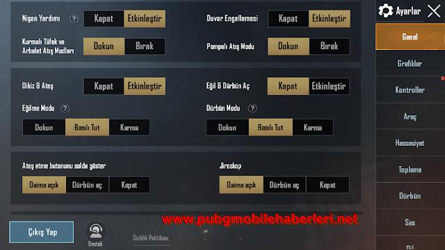 PUBG Mobile E-sporcu Hassasiyet Ayarları [2021]