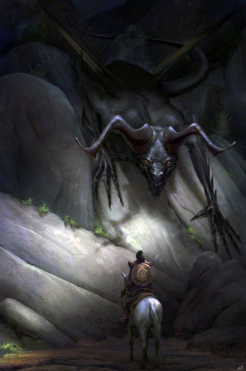 Abe Taraky artstation ilustrações fantasia games filmes arte conceitual