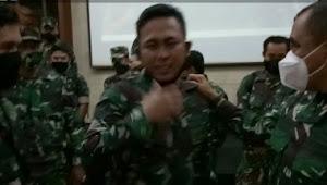 Kolonel Asep Rahman Pada Pisah Sambut Dansektor 22 Citarum Harum