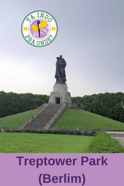 Memorial de Guerra Soviético, Treptower Park em Berlim