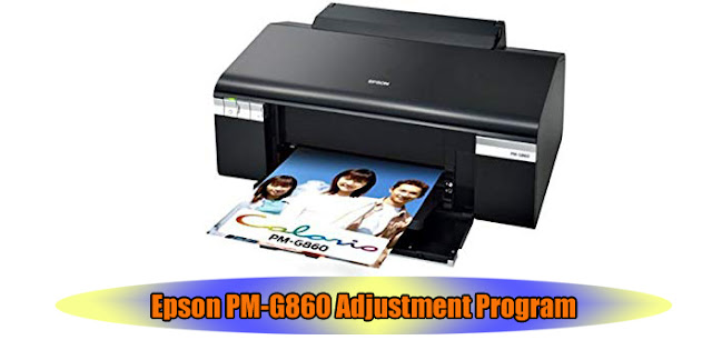Epson PM-G860 Printer Adjustment Program