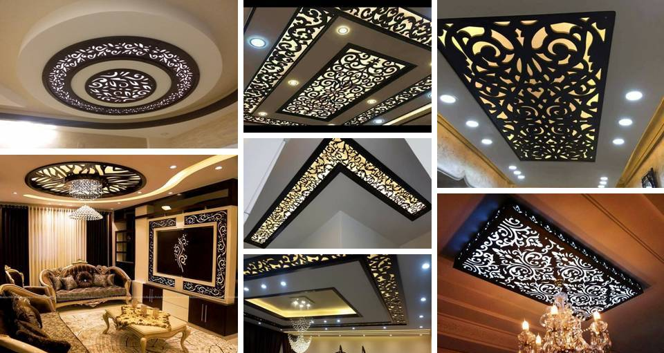 35 Contemporary Wooden CNC Ceiling & Walls Decorating Ideas, That ...