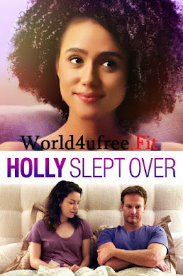 Holly Slept Over 2020 Dual Audio WEB HDRip 480p 300Mb x264 ESub