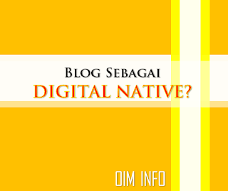 fungsi blog sebagai digital native