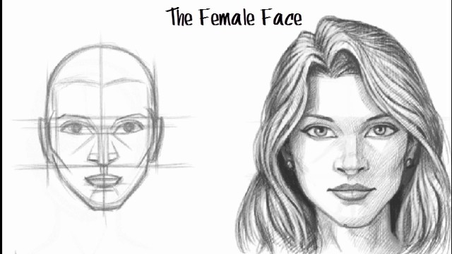 Unico Interaction: Drawing a Female Face
