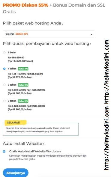 promo domain niagahoster