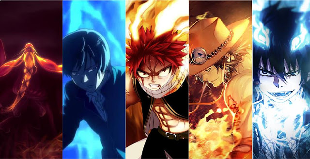Top character anime fire user