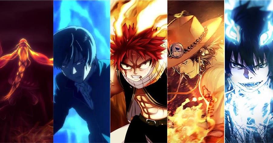 Inilah Daftar 10 Karakter Anime Pengguna Api Terkuat ...