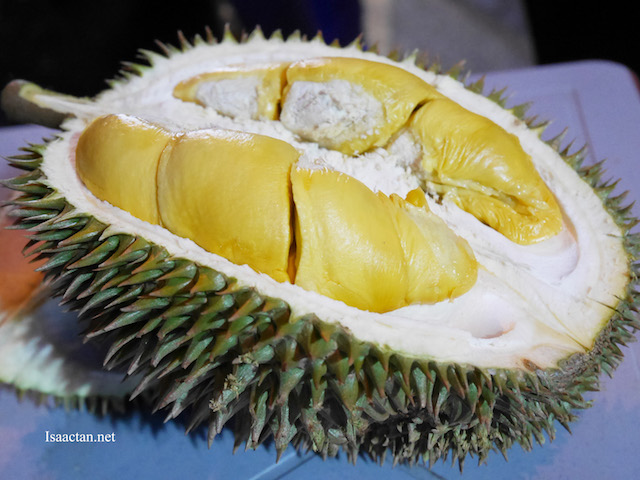 I do love my durians