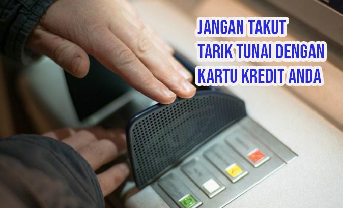 Cara Tarik Tunai Kartu Kredit BRI di ATM