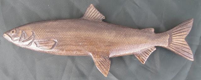 деревянные рыбы России - нельма
