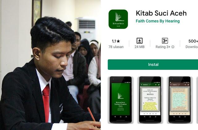 "Aplikasi ""Kitab Suci Aceh"" Viral, DPP Pemuda Cinta Aceh Layangkan Surat ke Pihak Google"