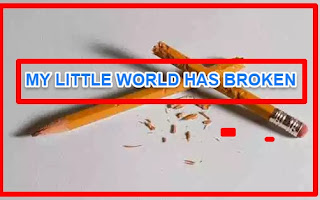 [ very short stories ] MY LITTLE WORLD HAS BROKEN | moral story