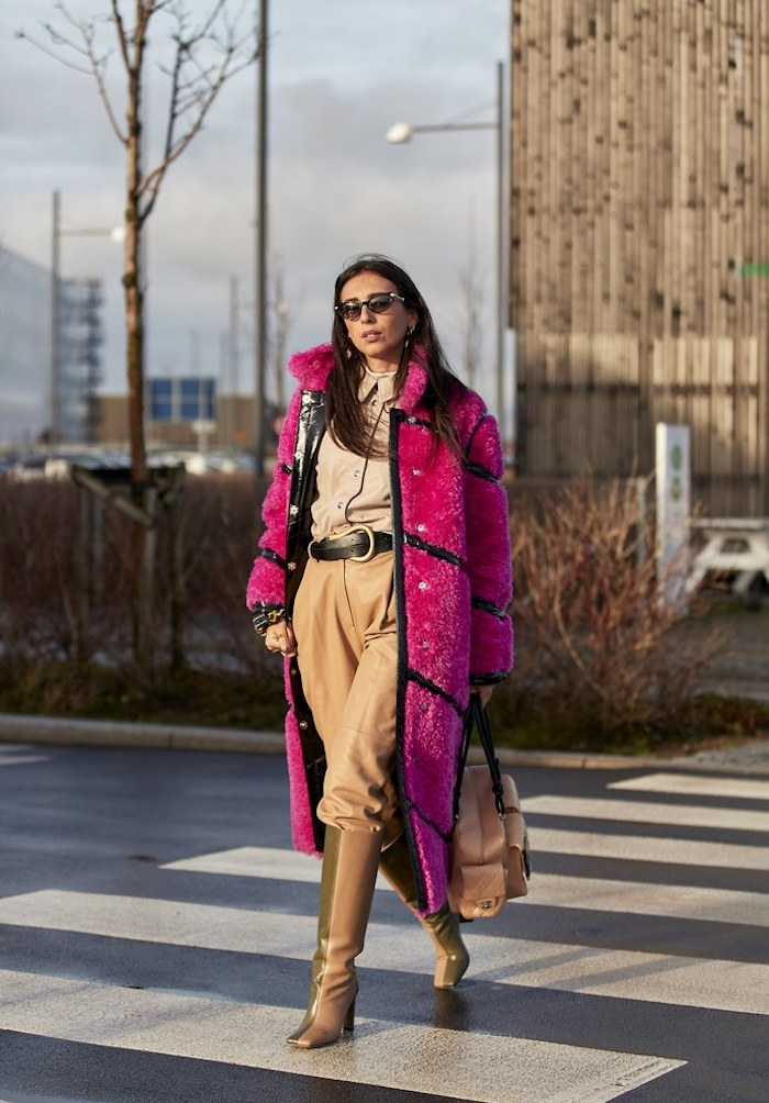 Street Style, Style Inspiration, Pants tucked into boots