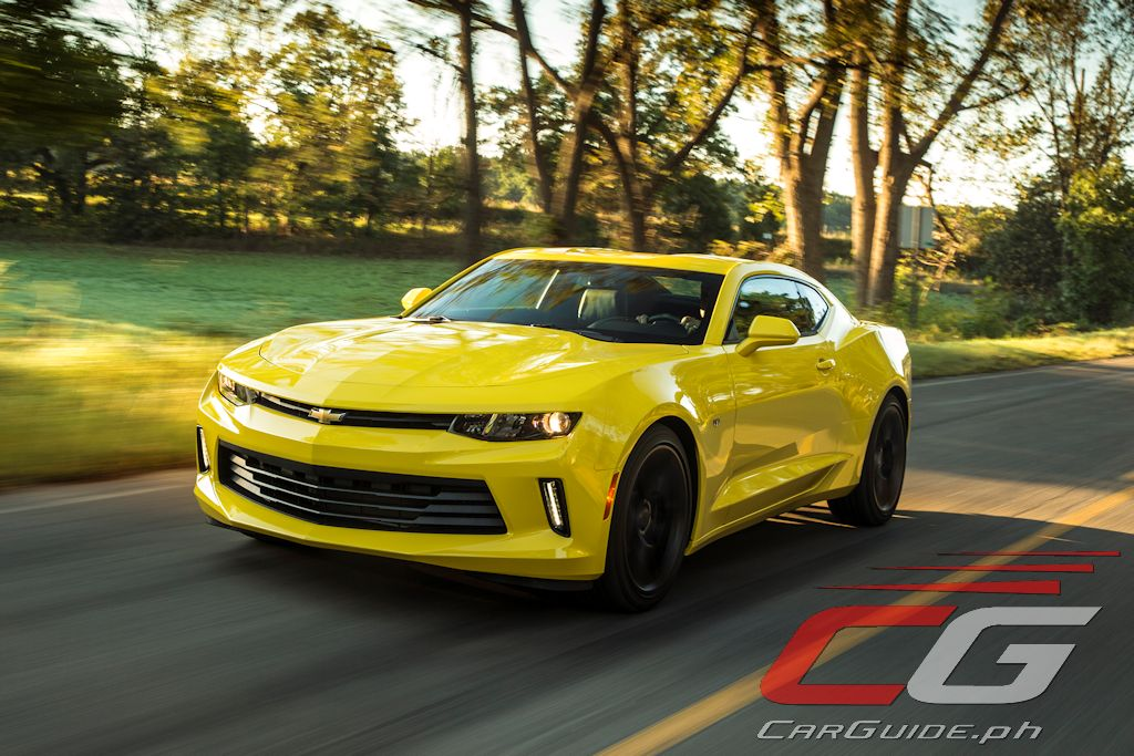 new car release philippinesYou Can Win a New Chevrolet Camaro by Just Gassing Up at Caltex